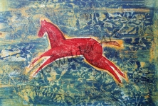 A3 Leaping horse-wmk