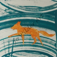 Flash of orange (fox)-wmk