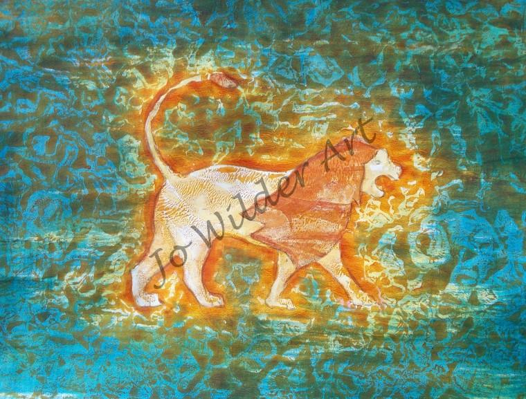lion watermarked