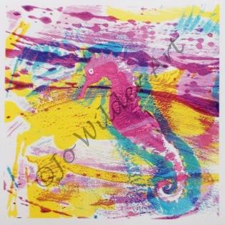 Water angel card (seahorse)wmk